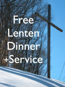 Please join us for a community ecumenical Lenten series
